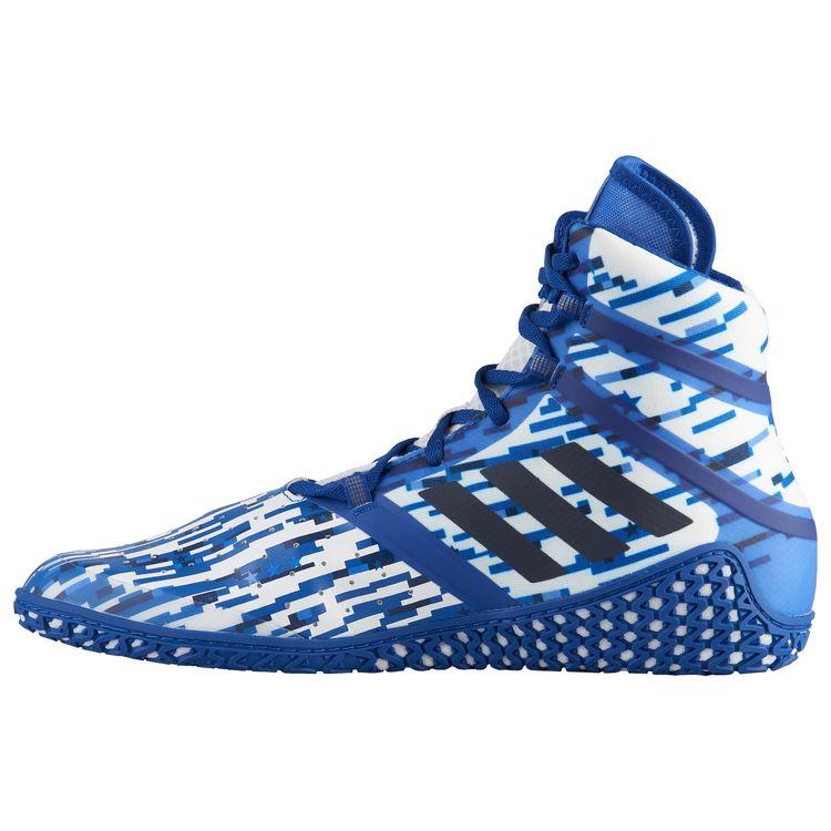 21321f36f11d69 ... Борцовки профессиональные Adidas Flying Impact (AC7492, бело-синие)