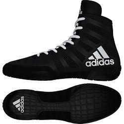 Обувь для борьбы профессиональные борцовки Adidas Adizero Varner (BB8020, черные)