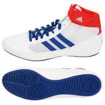 Обувь для борьбы Adidas Борцовки Havoc (BD7129, бело-сине-красные)