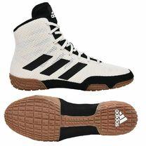 Обувь для борьбы Борцовки Teck Fall 2.0 Adidas (FV2470, бело-черные)