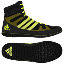 Борцовки Adidas Mat Wizard 3 (S77969, черно-желтые)