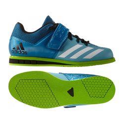 Штангетки Adidas Powerlift 3 (AQ3331, сине-зеленые)