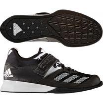 Взуття для важкої атлетики Adidas штангетки Crazy Power (BA9169, чорно-білі)