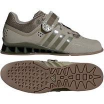 Обувь для тяжелой атлетики Штангетки Adidas AdiPower (DA9874, серые)