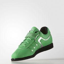 Штангетки Powerlift 2 зеленые Adidas