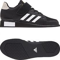 Взуття для важкої атлетики Штангетки Adidas Power Perfect 3 (ВВ6363, чорні)