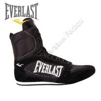 Обувь для бокса (боксерки) Everlast High Top boxing shoe (BSEHT, серые)
