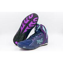 Обувь для бокса Everlast боксерки STRIKE (ELW124C, синий)