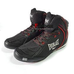Обувь для бокса Everlast боксерки STRIKE (ELM124B, черно-красные)