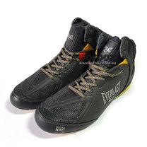 Обувь для бокса Everlast боксерки STRIKE (ELM124C, черно-желтый)