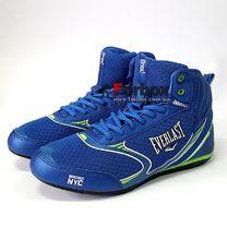 Боксерки Everlast обувь для бокса FORCE (ELM126B, синий)