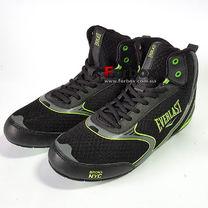 Боксерки Everlast обувь для бокса FORCE (ELM126D, черно-зеленый)