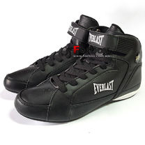 Обувь для бокса Everlast боксерки JUMP (ELM13, черно-белые)