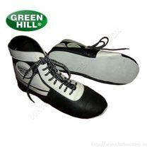 Самбетки Green Hill для борьбы на мягкой подошве (WS-3026, черно-белые)