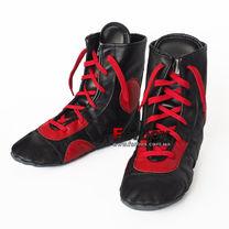 Борцовки (самбетки) Lev Sport натуральная кожа (LSSMB-BKRD, черно-красные)