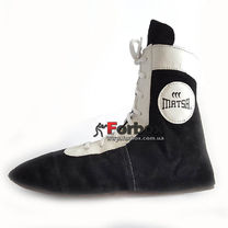 Обувь для борьбы Matsa борцовки замшевые (MA-265, черные)