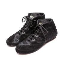 Боксерки Reyguard низкие кожаные (RBSL, черные)