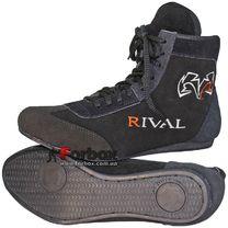 Борцовки замшевые Rival (MA-3311, черные)