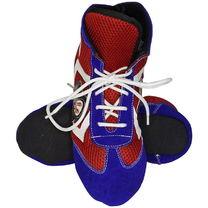 Обувь для борьбы самбо Velo на мягкой подошве из замши (OB-5800, двухцветные)