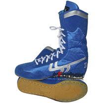Боксерки Zelart замшевые (BO-3206B, синий)