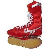 Боксерки Zelart замшевые (BO-3206R, красные)