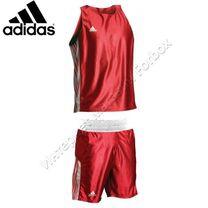 Боксерская форма Adidas Amateur Starpack (ADITB152, красная)