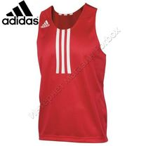 Майка боксерская Adidas Clubline Toro  (055398, красная)