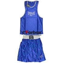 Детская боксерская форма Everlast (CO-6337-B, синяя)