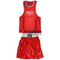 Детская боксерская форма Everlast (CO-6337-R, красная)