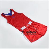 Форма боксерська Everlast двухстороння (MA-6010, червоно-біла)