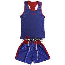 Форма боксерська Everlast двухстороння (MA-6010, синьо-червона)