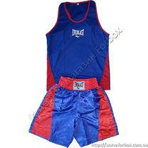 Форма боксерская Everlast (VL-3062, сине-красная)