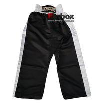 Штани для кікбоксингу дитячі Kickboxing Matsa (MA-6731, чорні)