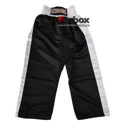 Штаны для кикбоксинга детские Kickboxing Matsa (MA-6731, черные)