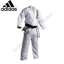 Кимоно джиу джитсу Rio Cut белое Adidas