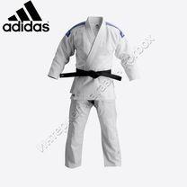 Кимоно джиу джитсу Adidas (JJ800, белое)