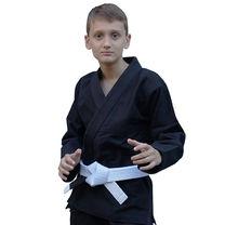 Кимоно для джиу-джитсу Детское Standart Kids 1.0 Black (FPGI1.0BK, Черный)