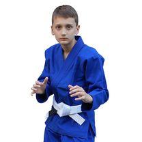 Кимоно для джиу-джитсу Детское Standart Kids 1.0 Black (FPGI1.0BL, Синий)