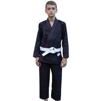 Кимоно для джиу-джитсу Детское Standart Kids 2.0 Black (FPGI2.0BK, Черный)