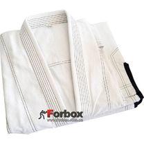 Кимоно для джиу-джитсу Velo 350 гм2 без пояса (VL-6649, белое)