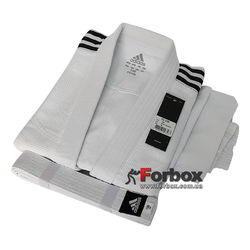 Кимоно для дзюдо Adidas Club 350гм2 (J350, белое)