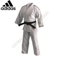 Кимоно для дзюдо Adidas Elite с аккредитацией IJF 800 мг2 (J800Elite, белое)