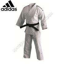 Кимоно для дзюдо IJF j800 белое Adidas
