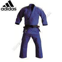 Кимоно для дзюдо Adidas с аккредитацией IJF (J800Elite, синее)