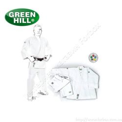 Кимоно для дзюдо Green Hill Olympic 930 гм2 (JSO-10304, белое)