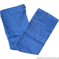 Штани для дзюдо Matsa синього кольору на зріст 150см