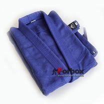 УЦЕНКА Кимоно для дзюдо Matsa повреждение на рукаве синее 150см