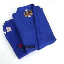 Кимоно для дзюдо Mizuno Yusho с аккредитацией IJF 750гм2 (5A5127, синее)