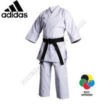 Кимоно карате Champion Европейского стиля Adidas (K460E) белое