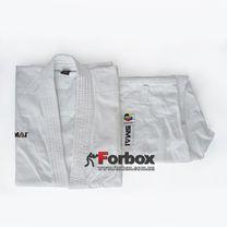 Кимоно для ката SMAI Silver аккредитовано WKF (SX-KATA-Silver, белое)